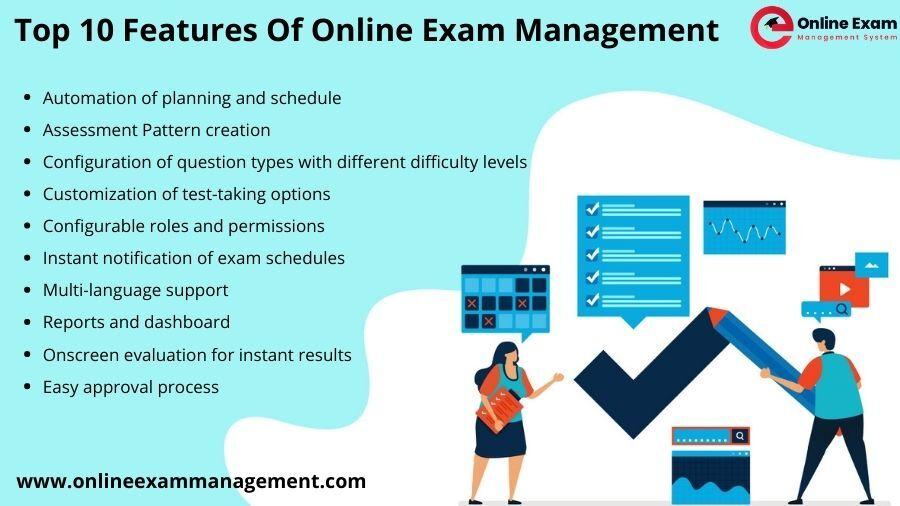 Top 10 Features Of Online Exam Management